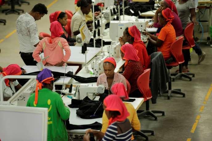 En Ethiopie, les petites mains de H&M ou Calvin Klein gagnent 23 euros par mois Ethiop10