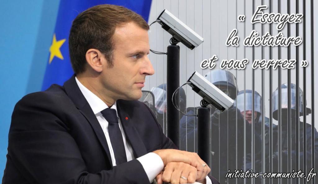 le régime Macron fiche les opinions politiques, l'orientation sexuelle, l'origine raciale des Français ! Macron11