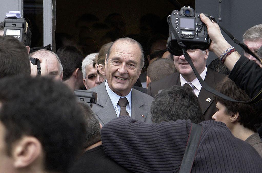 Nous ne commenterons pas la mort de Jacques Chirac (communiqué du NPA) Presid10
