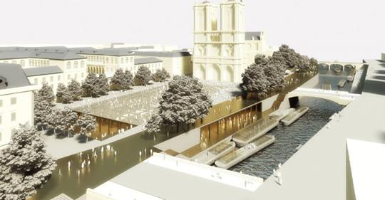 L'incendie de Notre Dame tombe à pic pour réaliser le projet futuriste de transformation de l'île de la cité !  Safe_i11