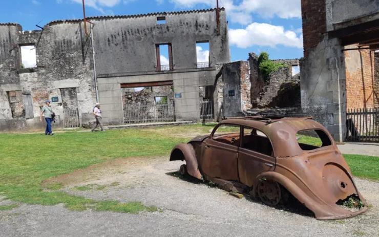 Oradour-sur-Glane : entretenir la mémoire, 75 ans après Sans_t29