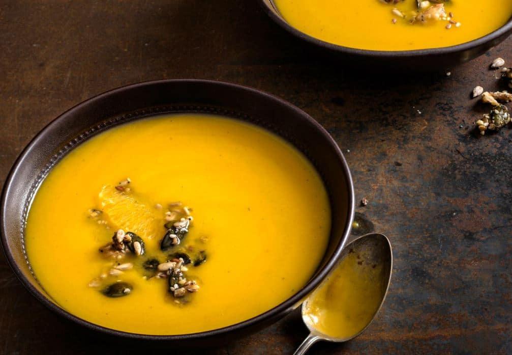 Soupe de courge à l'orange et aux noix épicées Soupe-10