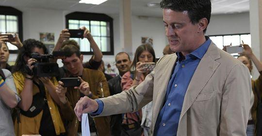 Manuel Valls subit une lourde défaite aux municipales de Barcelone Vals10