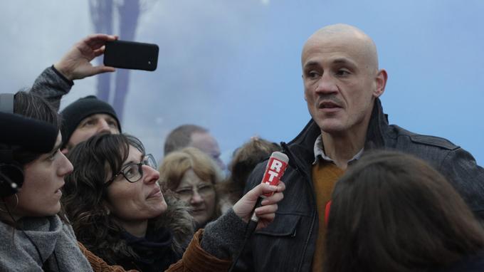 Des donateurs de la cagnotte Leetchi en soutien à Christophe Dettinger entendus par la police Xvmd5110