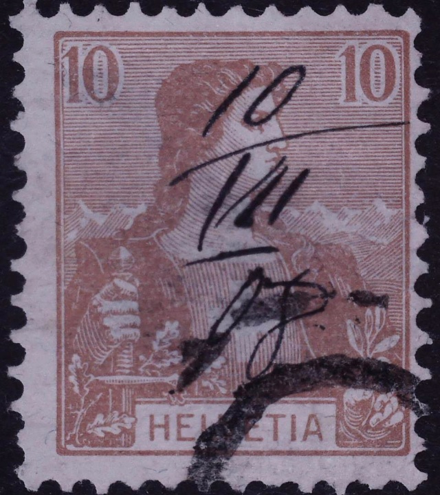 SBK 104 (Mi 98) Helvetia Brustbild I 104_ti10