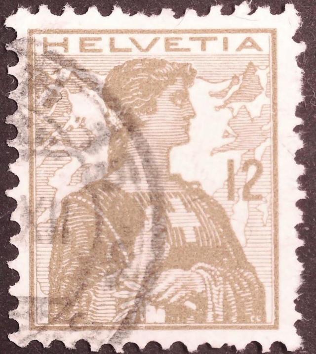 SBK 121 (Mi 115) Helvetia Brustbild II 121_1_10