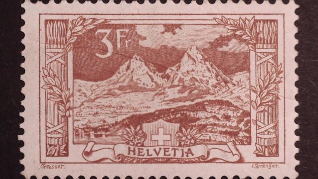 SBK 142 (Mi 142) Gebirgslandschaften Mythen 142_qu11