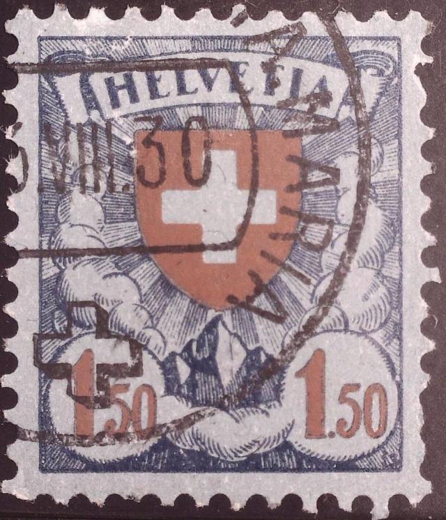 SBK 165 (Mi 196x) Wappenschild 165_no10