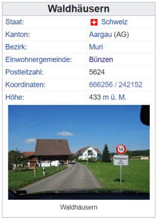 Waldhäusern AG 2020-087