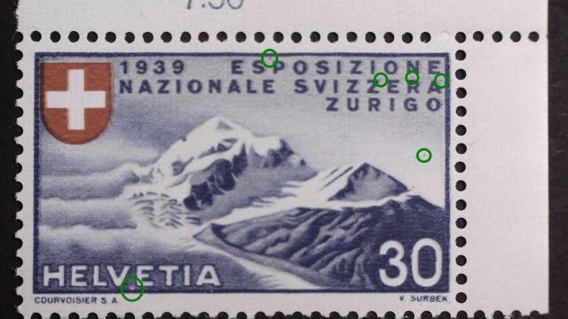 SBK 227 (Mi 343) Piz Roseg, italienisch 227_2_10