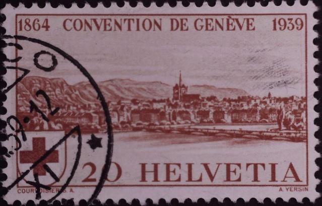 SBK 240 (Mi 357) Stadt Genf 20 Rp. rot 240_1_10