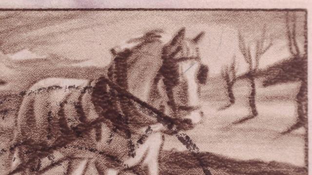SBK 252 (Mi 386) Bauer, Pferd, Pflug 252_1_10