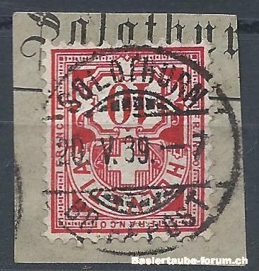 solothurn - Stempel der Stadt Solothurn A11