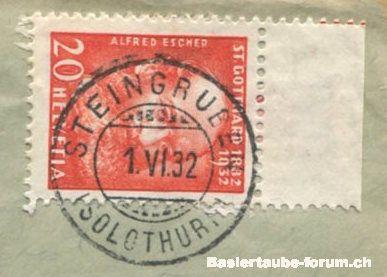 solothurn - Stempel der Stadt Solothurn A212