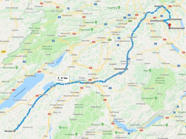Moudon nach Sumiswald? 18. Mai. 1859 Aa31
