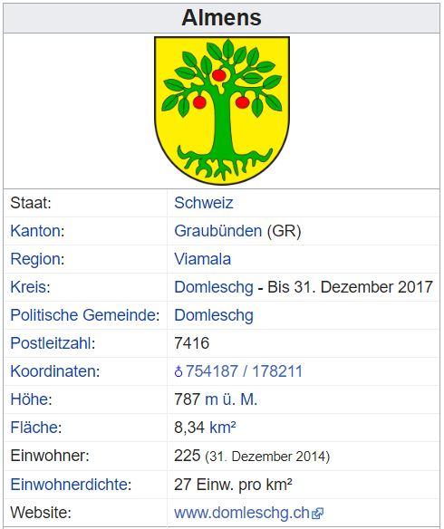 Almens GR - 225 Einwohner Almens12