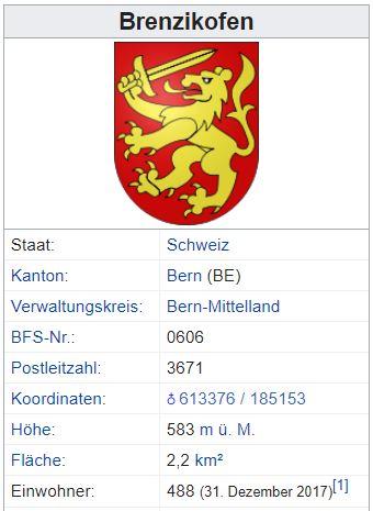 Brenzikofen BE - 488 Einwohner Brenzi11