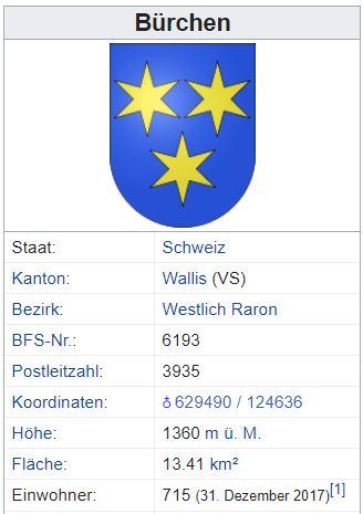 Bürchen VS - 715 Einwohner Bzrche11