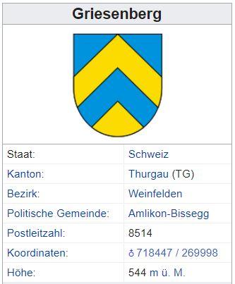 Fimmelsberg (Griesenberg) TG - 90 Einwohner Griese10