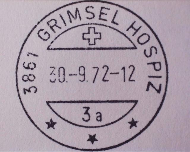 "Grimsel Hospiz BE - ""Berghotel"" Grimse20"