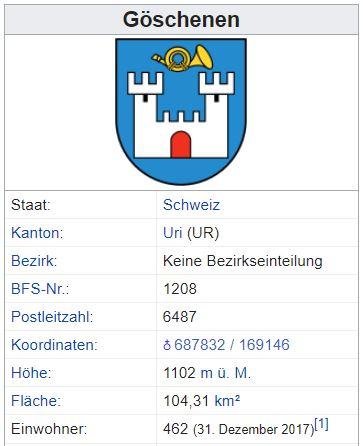Göschenen UR - 462 Einwohner Gzsche11