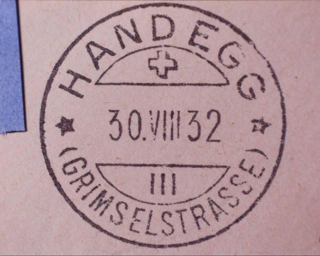 """Handegg (Grimselstrasse) BE - """"Berghotel"""" Handeg10"""