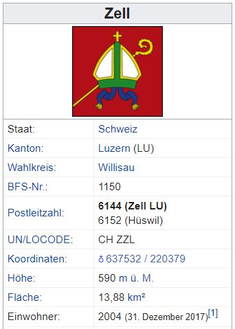 Hüswil (Zell) LU - xxx Einwohner Hzswil11