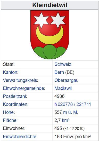 Kleindietwil BE - 495 Einwohner Kleind11