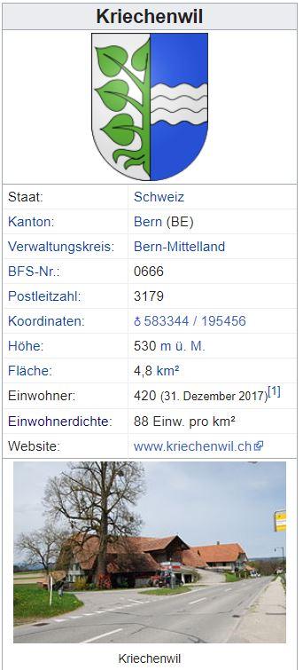 Kriechenwil BE - 420 Einwohner Kriech11