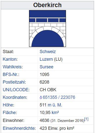 Oberkirch LU - 423 Einwohner Oberki11