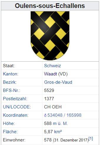 Oulens-sous-Echallens VD - 578 Einwohner Oulens11