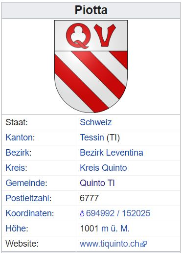 Piotta (Quinto) TI - xxx Einwohner Piotta11
