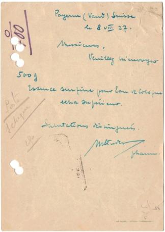 Bildpostkarten Zumstein P 107, 107y, 107z (124 verschiedene Karten)  Postka14