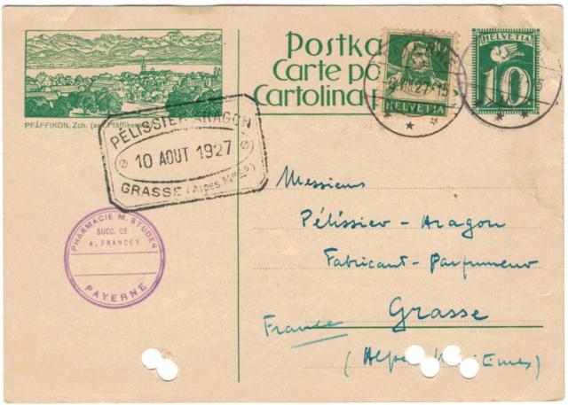 Bildpostkarten Zumstein P 107, 107y, 107z (124 verschiedene Karten)  Postka15