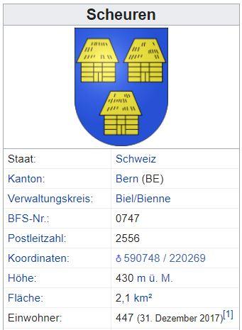 Scheuren b. Brügg BE - 447 Einwohner Scheur11