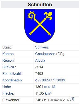 Schmitten (Albula) GR - 246 Einwohner Schmit11