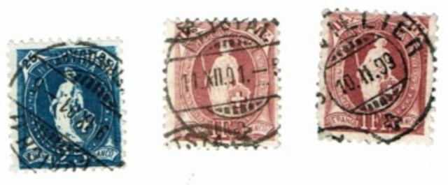 Stehende Helvetia um 1900 Sh110