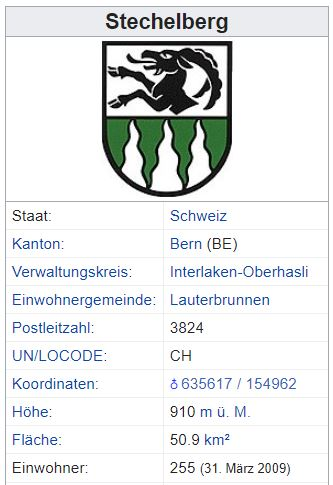 Stechelberg BE - 255 Einwohner Steche10