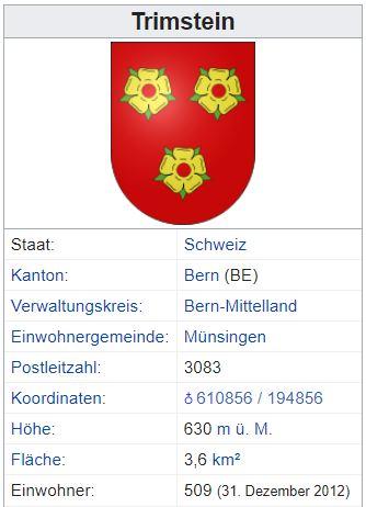 Trimstein BE - 509 Einwohner Trimst11