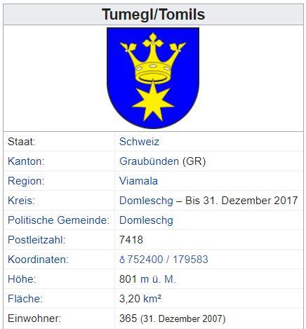 Tumegl/Tomils GR - 365 Einwohner Tumegl11