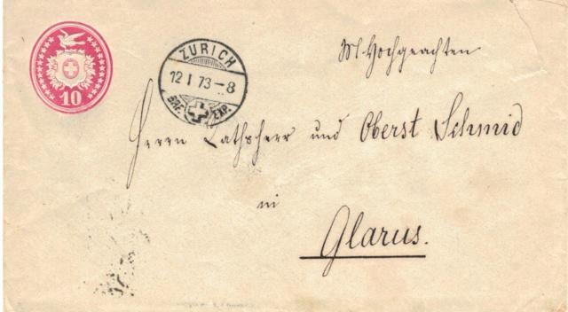 Tübli-Briefe 10 Rappen, Frankatur links oben Tzbli_11