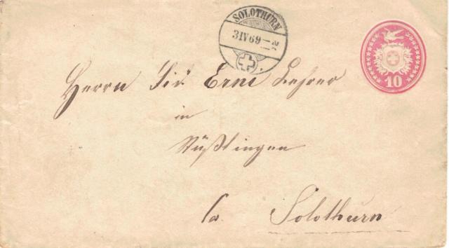 Tübli-Briefe 10 Rappen, Frankatur rechts oben Tzbli_15