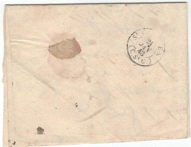 Rheineck nach Wittenbach SG am 24. Jan. 1843 Vorphi12