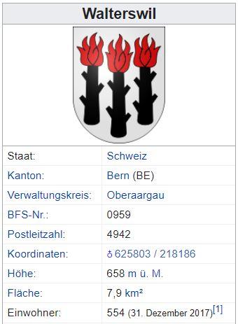 Walterswil BE - 554 Einwohner Walter11