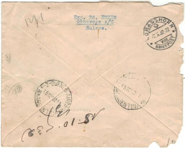 8. Südamerikafahrt 1932 Zeppel10