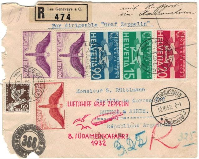 8. Südamerikafahrt 1932 Zeppel11