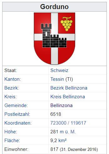 Gorduno TI - 817 Einwohner Zi132