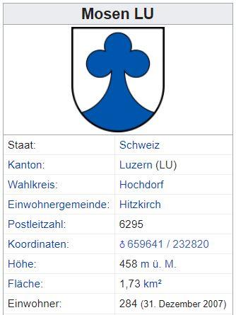 Mosen LU - 284 Einwohner Zi24