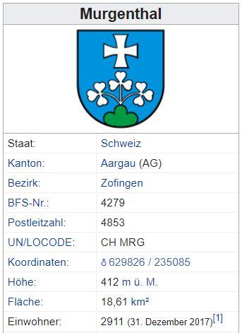 Glashütten (Murgenthal) AG - xxx Einwohner Zi28