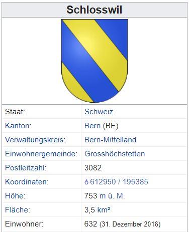 Schlosswil BE - 632 Einwohner Zi42